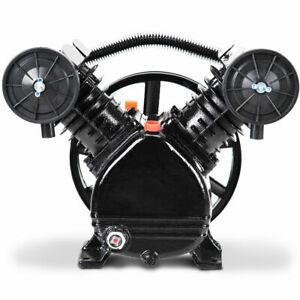 Air Compressor Pump Head 3hp 2positon V Style Pump Motor Head Air Tool