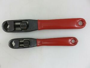 Craftsman 43381 43380 Adjustable Pocket Socket Nut Wrench 2pc Set Made In Usa