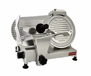 New Beswood 10 Premium Commercial Grade Electric Deli Meat And Cheese Slicer