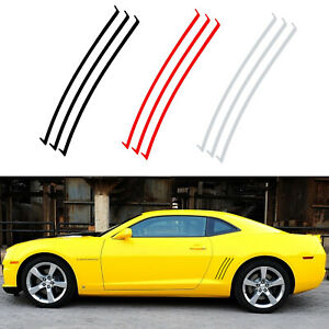 6pc Vent Insert Stripes Decal Inlay Stickers For Chevy Camaro Ss Rs Ls 2010 2015