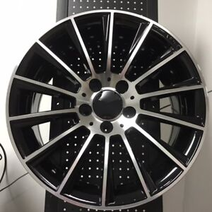 18 S550 Amg Style Wheels Rims Fits Mercedes Benz C 1 Pcs New 18 X 8 5
