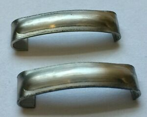 1936 1937 1938 Chevy Gmc Trucks Windshield Frame Joint Cover Pair Ss Free Ship