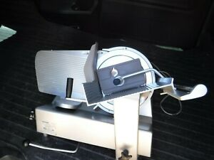 Bizerba Model Se12 Us Manual Gravity Feed Meat Or Cheese Slicer