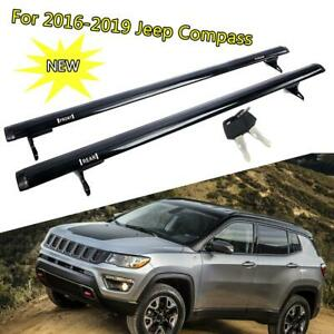 For 2016 2017 2018 2019 Jeep Compass Roof Rack Cross Bar Luggage Cargo Carrier