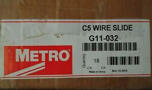 New Case Of 18 Pieces Wire Slides For Metro C5 Pan Proofer Cabinet Warming Rack