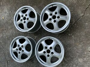 Porsche 911 928 944 964 968 Replica Cup 2 Wheels 17s Staggered Early Offset