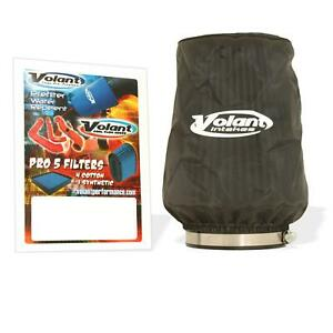 Volant 51906 Air Filter Wrap Polyester Black Conical Each