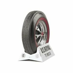 Pair 2 Coker U s Royal Tires 6 95 14 Bias ply Dual Redline 51390