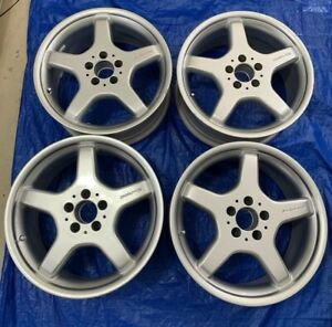 4 18 Mercedes Benz Amg Sl Sl Class Factory Oem Stock Wheels Rims Front Rear