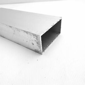 2 X 4 Od Alumnum Rectangle Tubing 25 Wall Thickness 77 5 Long Sku 106087