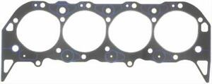 Two 2 Fel Pro Head Gaskets Composition Type 4 370 Bore 039 Comp Bbc 1037