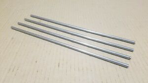 304 Stainless Steel 1 4 Round 12 Long Bars Rods 4 Pack