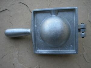 Lead Downrigger Sinker Cannon Ball Mold 6lb Weight Mold Fishing