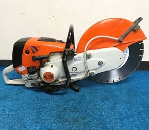 Stihl Ts800 16 Cutquick Concrete Chop Saw With New Blade