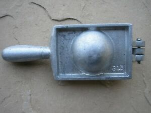Lead Downrigger Sinker Cannon Ball Mold 3lb Weight Mold Fishing
