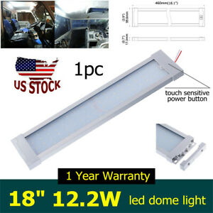 18 1440 Lm Rv Led Dome Light Interior Fixture Lamp For Jeep Truck Car Boat 12v