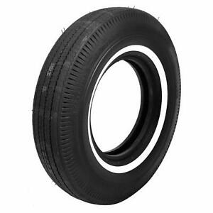 Set Of 4 Coker Bfgoodrich Vintage Tires 8 00 14 Bias ply Whitewall 53100