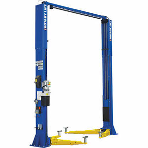 Rotary Lift Spo12n75tbl 2 post Truck Lift W 3 stage Arms 12k Lb Cap 164in