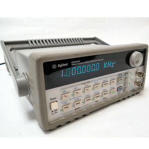 Hp Agilent 33120a 15mhz Function Arbitrary Waveform Generator Gpib Rs 232 Tested