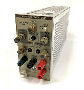 Tektronix Ps503a Dual Power Supply 20v 1a For Tm500 Series Scopes Working