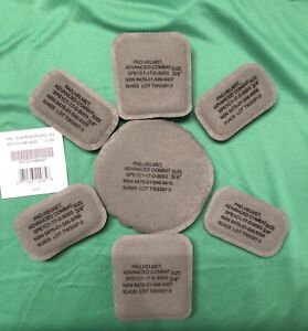 ARMY ISSUE ACH MICH Helmet Pad Set 7-Piece Foliage New