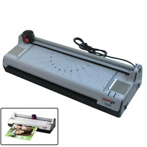 A3 Multi functional 2 In 1 Photo Thermal Cold Pouch Laminator Paper Trimmer