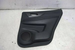 14 15 16 Nissan Rogue Rear Right Door Panel Trim Liner Interior Black 82900 4ba0