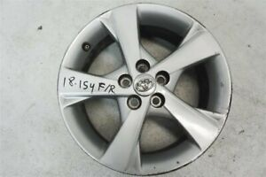 2011 2012 2013 Toyota Corolla 16x6 5 Alluminum Wheel Rim Has Curb Rash