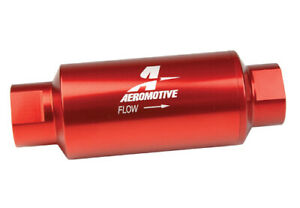 Aeromotive In Line Filter An 10 10 Micron Fabric Element 12301
