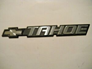 Chevy Tahoe Rear Tailgate Emblem 11
