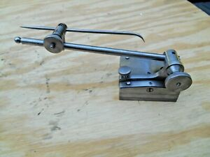 Starrett No 257 Universal Surface Gage With 7 Spindle