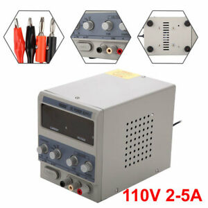 110v 2 5a Dc Power Supply Precision Digital Display 0 15v Adjustable 1505dd