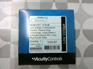 Acuity Controls Sensor Switch Ncm Pdt 10 Rjb Occupancy Sensor free Shipping