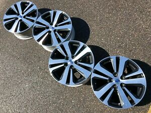 18 Subaru Legacy Limited Forester Outback Oem Factory Stock Wheels Rims 5x114 3