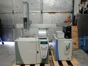 Thermo Trace Gc Ultra W Ms Dsq Mass Spectrometer Tri plus As Tp 100 Etc