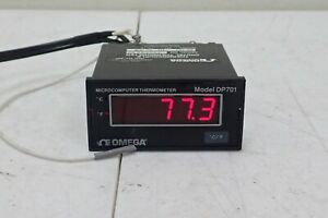 Omega Dp701 Microcomputer Thermocouple Digital Thermometer