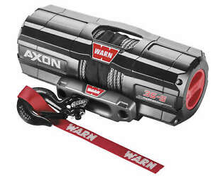 Warn 101140 Axon 4500 S Winch With Synthetic Rope