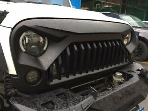 2018 2007 Angry Bird Jeep Wrangler Grill Grille For Jk Rubicon Sahara Unlimited