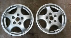 Porsche Cup 1 Wheels Pair 7 X 17 964 Rs America 965 1992 Dated Oem Factory