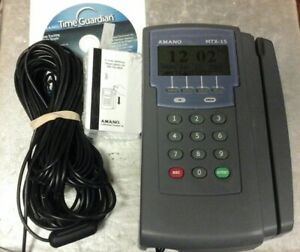 Amano Time Clock System Mtx 15 a300