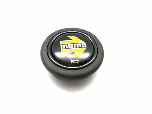 Elettro Steering Wheel Horn Button For Momo Omp With Momo Logo 58mm