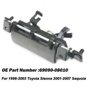 Metal Tailgate Back Door Handle For Toyota Sienna 1998 2003 For Sequoia 2001 07
