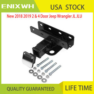 2 Rear Upgraded Tow Trailer Receiver Hitch Fit For 18 19 Jeep Wrangler Jl Jlu