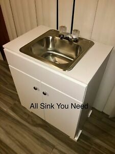 Portable Sink Nsf Mobile Handwash Self Contained Hot Cold Water Concession