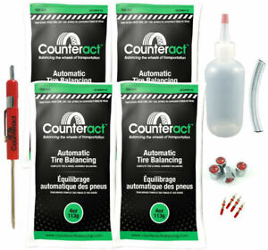 Counteract Diyk 4 Tire Balancing Beads 4oz Diy Kit 16oz