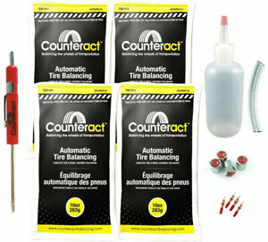 Counteract Diyk 10 Tire Balancing Beads 10oz Diy Kit 40oz