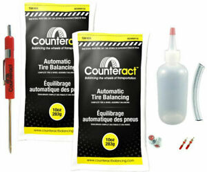 Counteract Diysk 10 Tire Balancing Beads 11r22 5 24 5 Steer Kit 10oz Diy 20oz