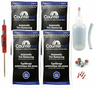 Counteract Diyk 12 Tire Balancing Beads 12oz Diy Kit 48oz