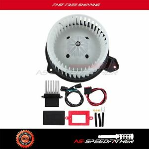 Hvac Heater Blower Motor And Resistor For Jeep Grand Cherokee New