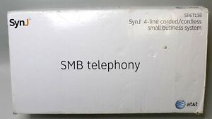 nob At t Smb Telephony Synj 4 line Corded Small Business System Sb67138